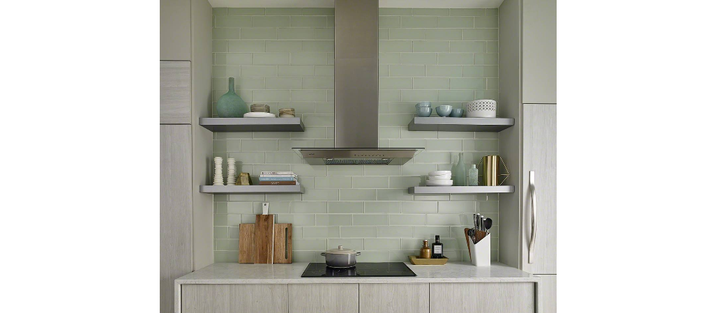 Arctic Ice Gl Subway Tile 4 12 Perfection Kitchens