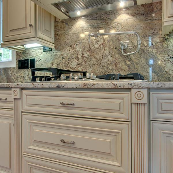 Glazed Kitchen cabinetry style